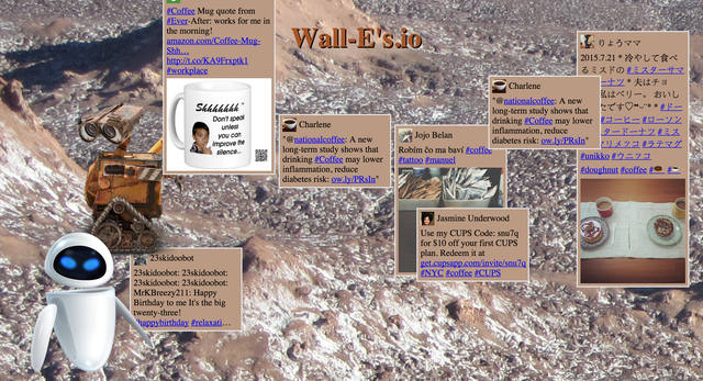 New Walls.io theme using Wall-E, created by Martin Entner during #camp404 in 2015.