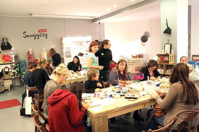 Celebrating DIY with more than 150 workshops in Germany, Austria and Switzerland.