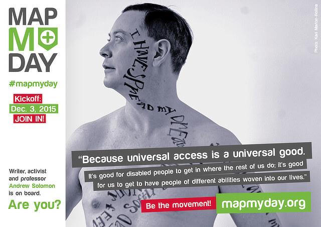#MapMyDay Testimonial Andrew Solomon.