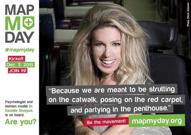 #MapMyDay Testimonial Danielle Sheypuk.