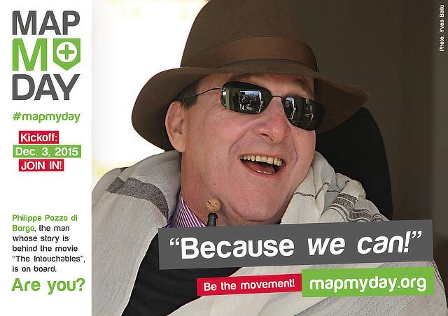 #MapMyDay Testimonial Philippe Pozzo di Borgo.