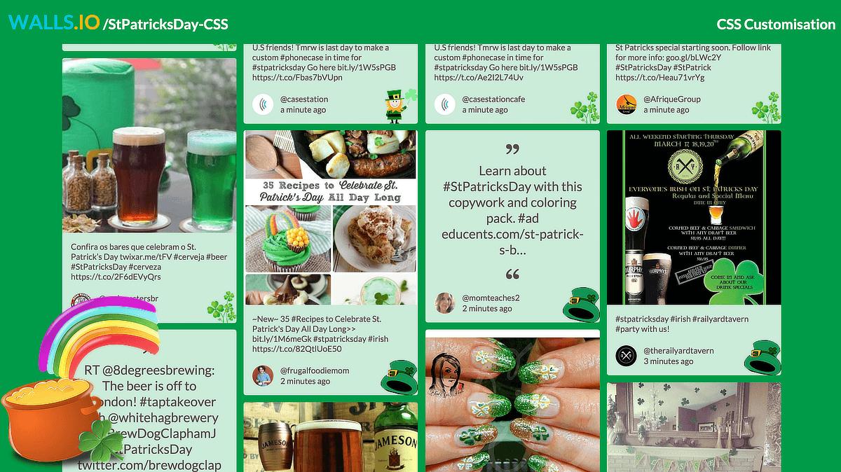 Walls.io CSS customisation tutorial