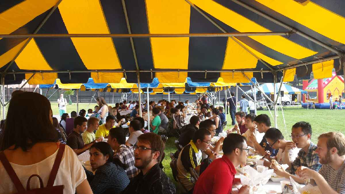 Rackham Graduate School Fall Welcome