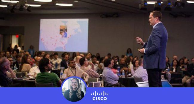 Cisco-Leader-Day-CEO-Chuck-Robbins-in-San-Jose-California=Social Media Wall