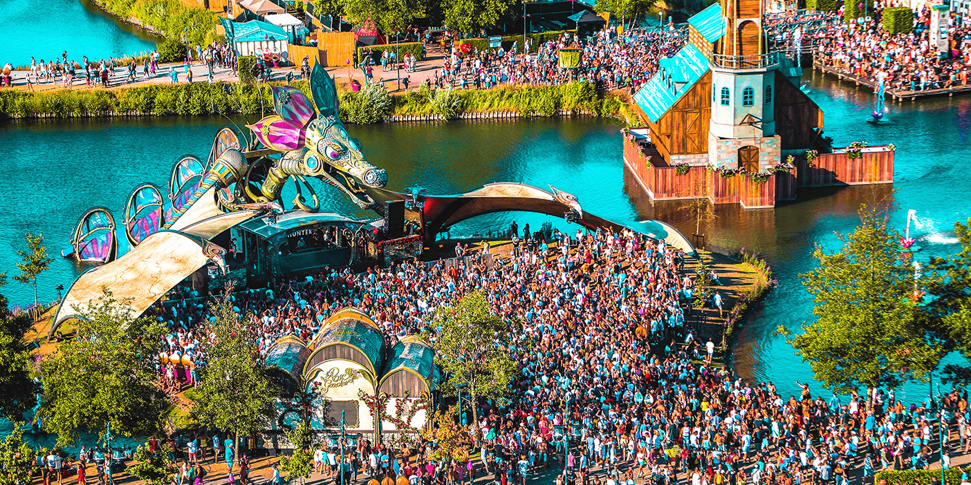 event social feed tomorrowland