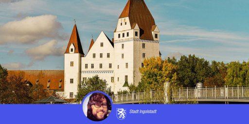 New Castle in Ingolstadt